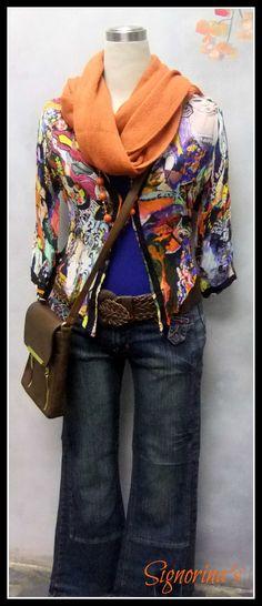 Matisse print blouse - exclusively from Signorina's Matisse, Printed Blouse, Plaid Scarf, Lady, Womens Fashion, Henri Matisse, Women's Fashion, Woman Fashion, Fashion Women