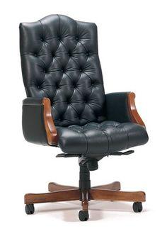 CONRAD TUFTED BACK EXECUTIVE SEATING - TRINITY - http://trinityfurniture.com/product/12/conrad-tufted-back-executive-seating