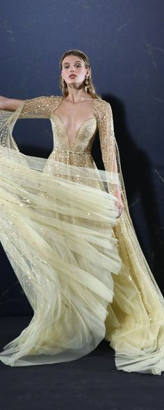 Georges Hobeika S/S 2018... Details - Couture - http://www.orientpalms.com/Georges-Hobeika-7064