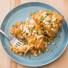 Spanish Braised Chicken with Sherry and Saffron (Pollo en Pepitoria) | America's Test Kitchen