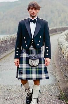 Kilts = My sons want to wear something like this for their weddings. They want to wear the family plaid.