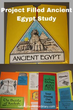PROJECT FILLED ANCIENT EGYPT STUDY
