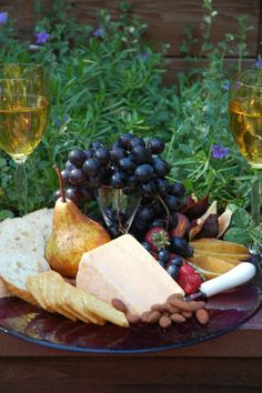 Barbara Adams Beyond Wonderful » Farmhouse Cheshire Cheese Tray with Rheingau Riesling Wine Pairing Recipe