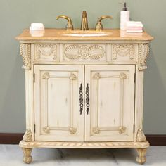 "38"" Haverhill Single Bathroom Vanity.  A beautifully ornate design. $899.00"