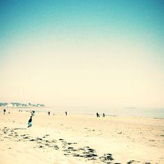Carnac, lumineuse, plage, beach