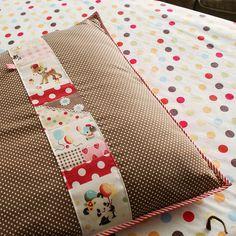 a new pillowcase for Olivia by nanaCompany, via Flickr