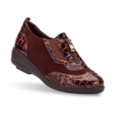 Check out these shoes from Gravity Defyer. Women's Italin Brown Casual Shoes | GravityDefyer.com