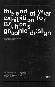 exhibition poster southampton