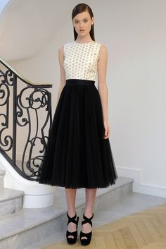 Dior Resort 2013.....such a classy dress, one that would be suitable to wear so many places, on so many occasions...w.