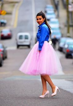 Baby Pink FairyTale Satin Tutu Skirt - 70cm