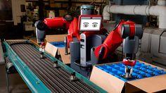 Robô industrial amigável
