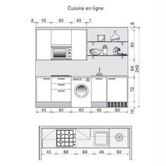 """<p>Plan issu du livre """"La maison sur mesure"""" par Dominique Rabin aux Éditions Le Moniteur.</p> <p><a href=""""/,une-cuisine-immaculee,200043,212,2"""" target=""""_blank""""><strong>D'autres cuisines en I<..."""
