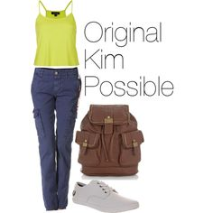 """""""Original Kim Possible Outfit"""" by nina-and-niall-horan on Polyvore"""