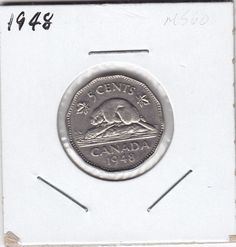 Top 10 Rare Canadian Nickels My Road to Wealth and Freedom - Bit Coin - Ideas of Bit Coin - 1948 5 cents Thousand Dollar Bill, Penny Values, Old Coins Worth Money, Gold And Silver Prices, Canadian Coins, Valuable Coins, American Coins, Error Coins, Coin Worth