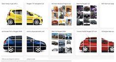 Otra manera de utilizar Pinterest, ahora, por Peugeot.