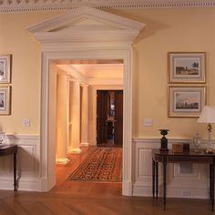 Love The Pediment Over The Door.
