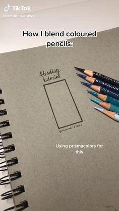 Art Drawings Sketches Simple, Pencil Art Drawings, Realistic Drawings, Drawing Tips, Easy Drawings, Drawing Ideas, Art Hacks, Color Pencil Art, Diy Canvas Art