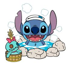 Stitch Stickers by The Walt Disney Company Ltd ( Japan). Stitch (also known as Experiment is a fictional character in the Lilo & Stitch. Lilo Stitch, 626 Stitch, Lelo And Stitch, Lilo And Stitch Quotes, Cute Stitch, Cute Disney Wallpaper, Wallpaper Iphone Cute, Cute Wallpapers, Disney Stich