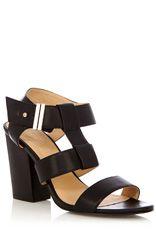 Bea Cut Out Block Heel