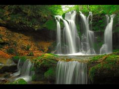 Waterfall in Hyogo prefecture, Japan | from http://www.nipponterest.com/
