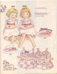 SISTERS BY YUKO GREEN – PAPER DOLLS