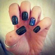 "Galatic Nails are very ""in"" right now so why not try this"