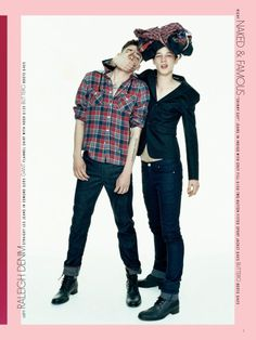 Ash & Cole for Barneys COOP Denim Mailer  image barneysdenim1