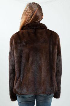 Veste de Vison Scanbrown Kopenhagen Fur