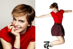 New Pixie Hair of The Cute Witch – Emma Watson