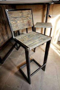 Мебель в лофт loft стиле для кафе стулья барные стойки ресепшн Одесса - изображение 4
