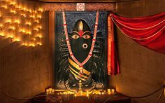 Linga Bhairavi is the most exuberant expression of the Divine Feminine, consecrated by Sadhguru at the Velliangiri Foothills Durga Puja Wallpaper, Isha Yoga, Kali Goddess, Shiva Art, Hindu Deities, Hinduism, Divine Feminine, Dark Night, Lord Shiva