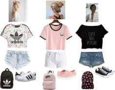 The Business Dress Code: The best for the office - Frauen Sommer Mode - Summer Dress Outfits Summer Outfit For Teen Girls, Summer School Outfits, Cute Teen Outfits, Teenage Girl Outfits, Teen Fashion Outfits, Tween Fashion, Teenager Outfits, Mode Outfits, Girl Fashion