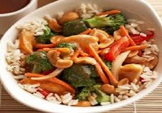 WW Crockpot Cashew Chicken-This is a Weight Watchers 6 PointsPlus+ recipe.