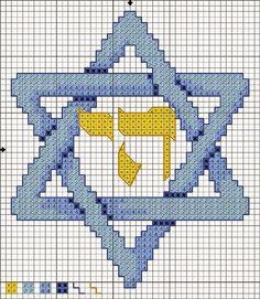 A judaica ponto cruz: Graficos  judaicos em ponto cruz - Magem Davi ( Es...                                                                                                                                                                                 Mais