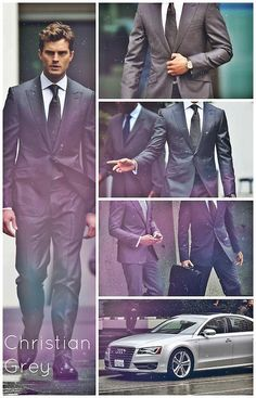 Fifty Shades of Grey Jamie Dornan, Gideon Cross, Fifty Shades Darker, Fifty Shades Of Grey, Christian Grey, Emerson, Fifty Shades Series, Jackson, Mr Grey