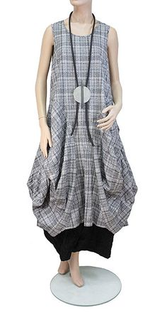 Difera Lagenlook dress
