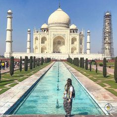 #WhereIsHoboh today?  .  📍#tajmahal #india  By @andreiacorreia13 .  #Hoboh is #TheEasyWayToTravel