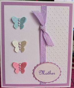 Simple Butterfies and Ribbon