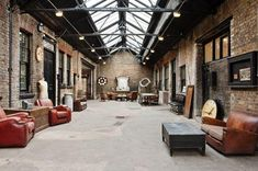 Loft vintage industrial [] vintage loft Interior design, decoration, loft, furniture, industrial