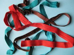 DIY Elastic Ponytail Holders and Headbands