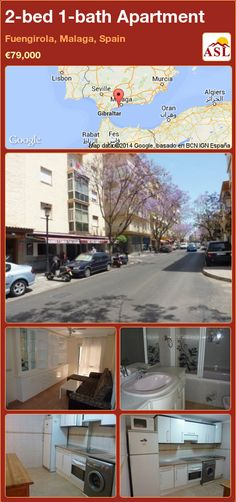 2-bed 1-bath Apartment in Fuengirola, Malaga, Spain ►€79,000 #PropertyForSaleInSpain