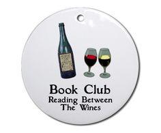 The best book clubs always meet in wine bars. :-)