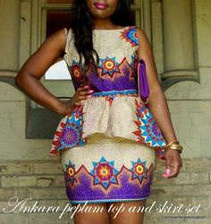 African clothing, Nigerian style, Ghanaian fashion so beautiful African Inspired Fashion, African Print Fashion, Africa Fashion, Fashion Prints, Fashion Styles, Fashion Outfits, African Print Dresses, African Fashion Dresses, African Dress