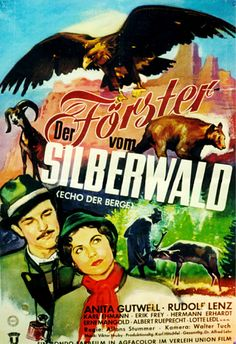 Poster zum Film: Der Förster vom Silberwald. 1955