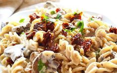 Who says you need milk or cheese to create a deliciously creamy pasta dish?