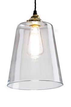 Glass Bell Light