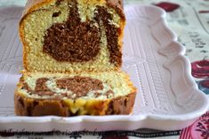 Plum cake marmorizzato di Montersino Bimby • Ricette Bimby