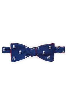 Silk Barlow Reversible Bow Tie