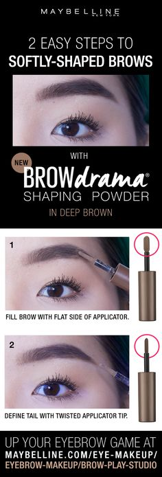 5308a4c84f6 Bring on boldly filled, softly-shaped brows with Maybelline's first ever  brow powder.