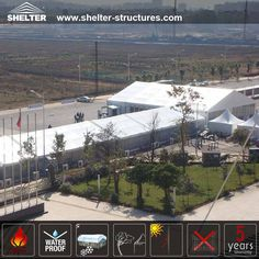 Shelter Tent provides large aluminum clear span Commercial tents for sale for all events. Our tents are easy to set up and remove to other location.
